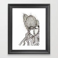 Edgy Framed Art Print