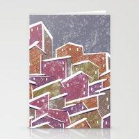 Urban Tetris#1 Stationery Cards