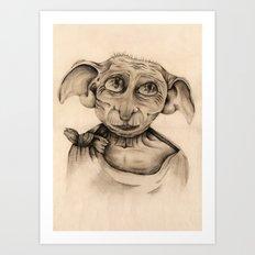 Free Elf Full Length Art Print