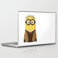doctor who Laptop & iPad Skins featuring Doctor Who by Henrik Norberg