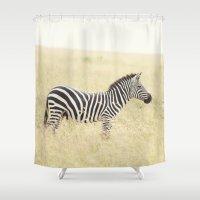 be still::kenya Shower Curtain