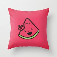 WATERMELON! Throw Pillow