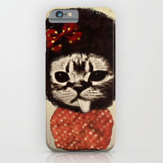 Cat (Pack-a-cat) iPhone & iPod Case