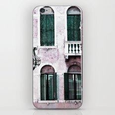 Green Shutters iPhone & iPod Skin