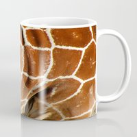 Giraffe Skin Close-up Mug