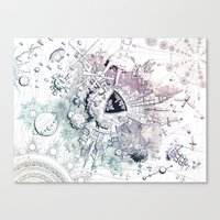 Universe in Progress Canvas Print