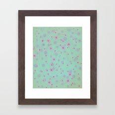 A Pretty Day Framed Art Print