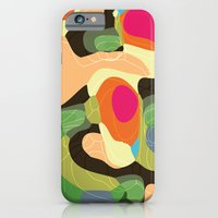 iPhone & iPod Case featuring Topic Tropic by Akwaflorell