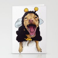 Chihuahua in bee costume - Tuna Stationery Cards