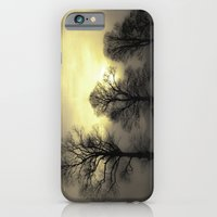 iPhone & iPod Case featuring Golden Tree Landscape by David P Hunter