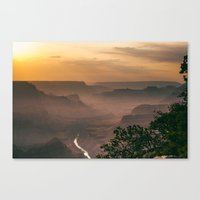 Grand Canyon - South Rim - Evening Haze Canvas Print