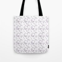 Space Kid Pattern Tote Bag