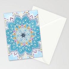 MAGIC FLOWER MANDALA Stationery Cards