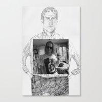 Ryan Gosling wearing Macaulay Culkin wearing Ryan Gosling wearing Macaulay Culkin  Canvas Print