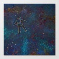 Viaje Al Espacio 2 Canvas Print