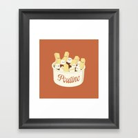 Poutine Framed Art Print