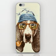 iPhone & iPod Skin featuring SEAGULL II by Dogooder