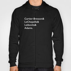 Cartier-Bresson & LeChepelle & Leibovits & Adams (The Photography Gods) Hoody