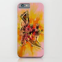 iPhone & iPod Case featuring Silent Thrill by Geekleetist
