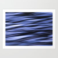 Abstract Water Art Print