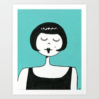 Cheerful Eloise Art Print