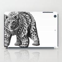 Ornate Bear iPad Case