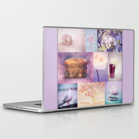 ROMANTIC COLLAGE Laptop & iPad Skin