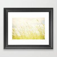 Sweet grass Framed Art Print