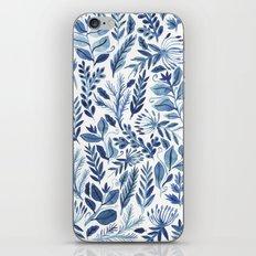 indigo scatter iPhone & iPod Skin