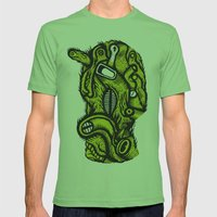 Irradié - the print Mens Fitted Tee Grass SMALL