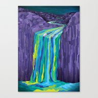 The Great Waterfall Canvas Print