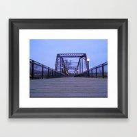Clark Fork Bridge Framed Art Print