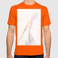 sposa Mens Fitted Tee Orange SMALL