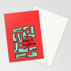 keep it together Stationery Cards