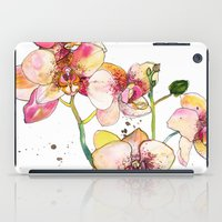 Pink Orchids iPad Case