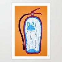 Vans & Color Magazine Art Print