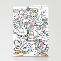 My Happy Doodle Stationery Cards