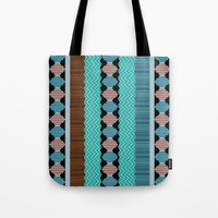 Knitted 1 Tote Bag