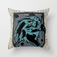 save the eagles Throw Pillow