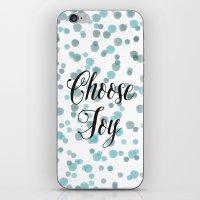 Blue Watercolor Confetti… iPhone & iPod Skin