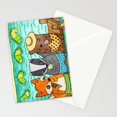 Ice Cream Social Stationery Cards