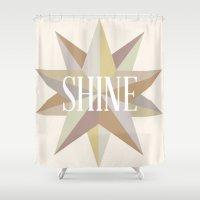 Shine Like a Star Shower Curtain