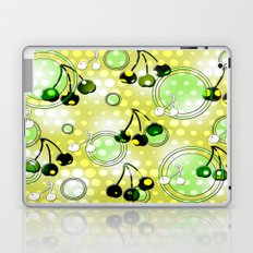Cherries with glow Laptop & iPad Skin