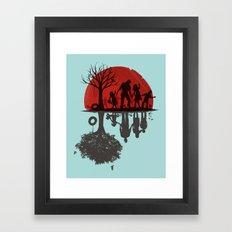 A Family Once Framed Art Print