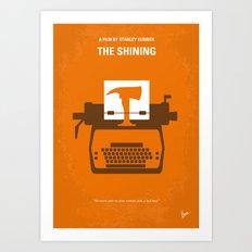 No094 My The Shining Min… Art Print