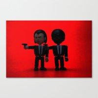Toy Pulp Fiction Canvas Print