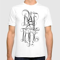 Rapture Mens Fitted Tee White SMALL