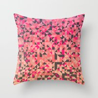 pillow pattern #23 Throw Pillow