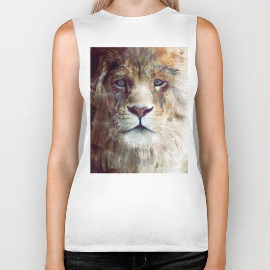 Lion // Majesty Biker Tank