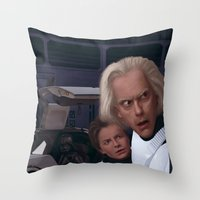 I Find Your Lack Of Jigg… Throw Pillow